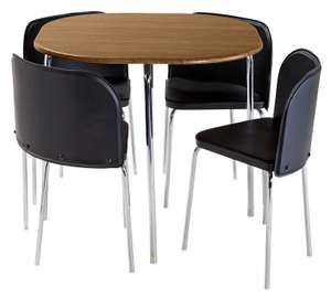 Hygena dining table and chairs from £139.99 to £93.99 @ Argos