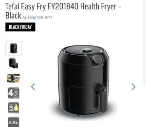 Tefal Easy Fry (Air Fryer) £49.99 @ Argos