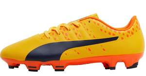Kids Puma Football boots size 3.5 up to 6 from £7.99 @ M&M Direct p&p £4.99 or Free with Premier