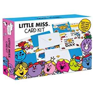 Mr Men & Little Miss Create your own Card Kit was £9.99 now £3.00 @ Amazon Add On Item