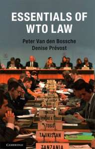 Indispensable reading these days. Essentials of WTO Law. £18.67 free delivery @ Wordery