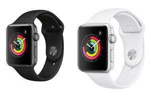 Apple Watch Series 3 GPS, Space Grey or Silver 38mm £199 & 42mm £229 with BNPL Free C&C @ Very