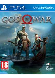 God of War PS4 (new/sealed/delivered) £27.85 @ Simply Games