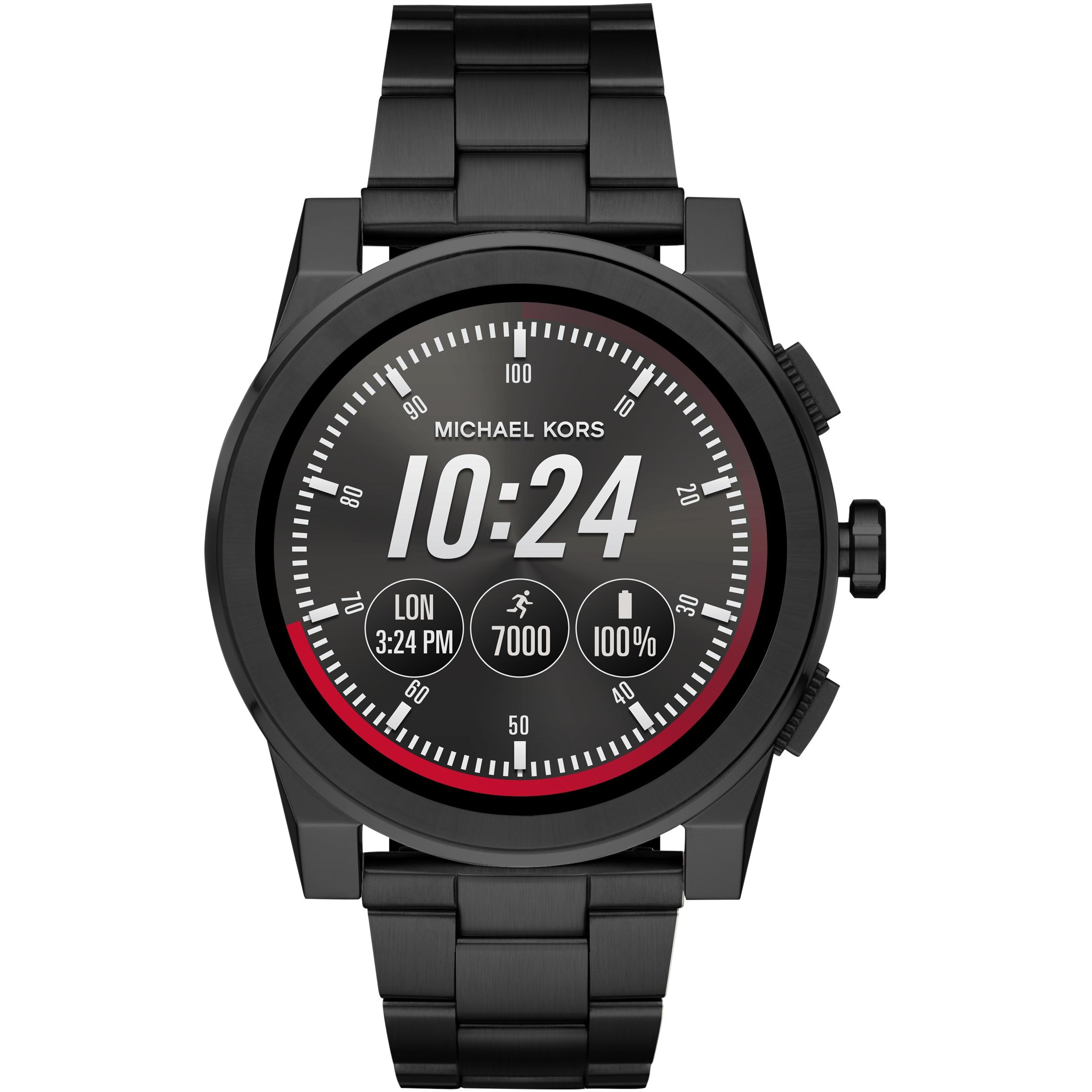 Michael Kors Men's Smartwatch Grayson MKT5026/MKT5029 £109 at Amazon