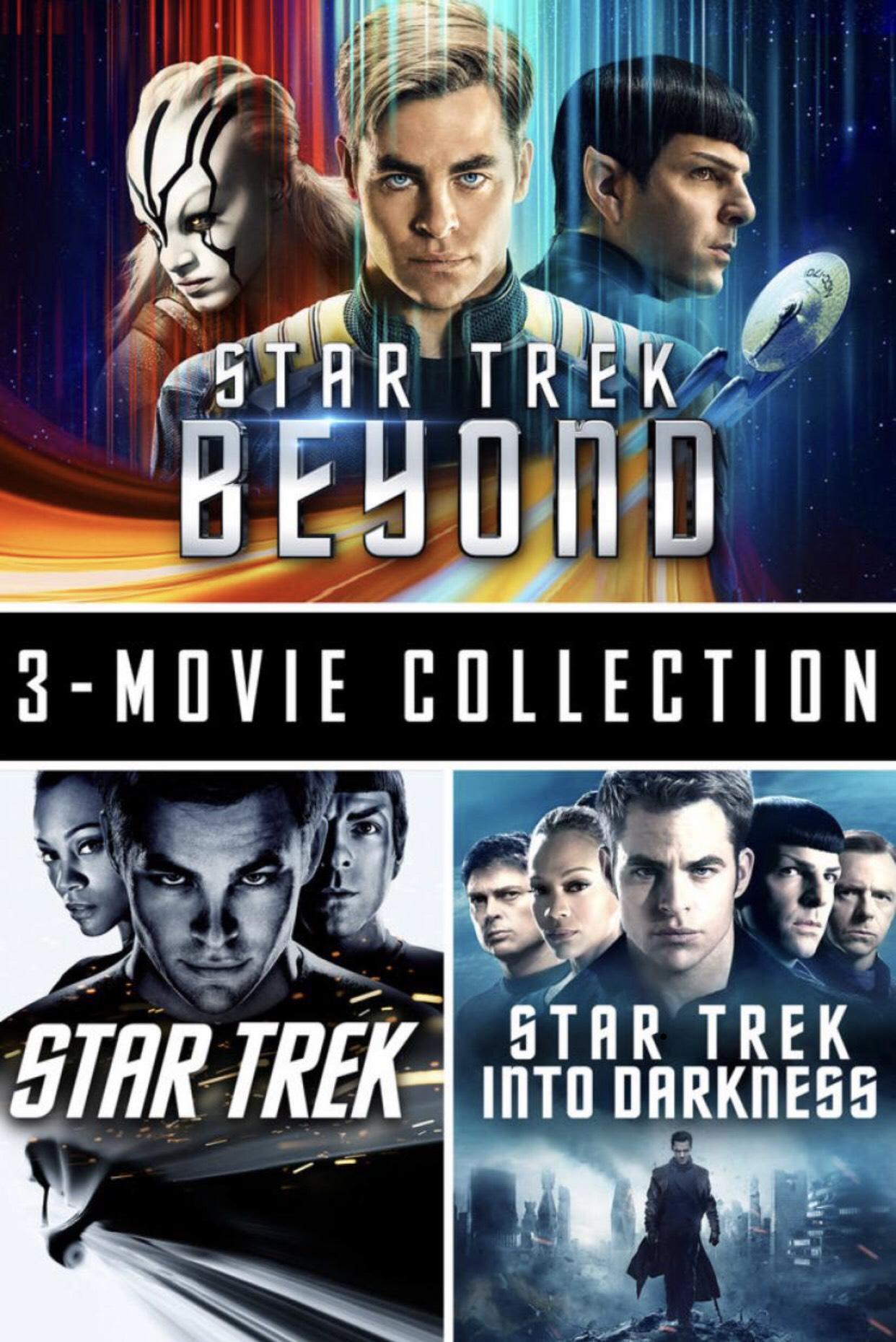 Star Trek 3 Movie Collection £12.99 @ iTunes