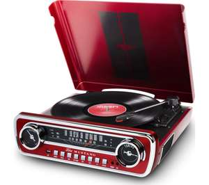 ION Mustang LP Belt Drive Turntable - Red for £99.99 delivered @ Currys