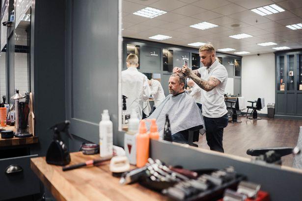 * free haircut at Gould Barbers Walsall - 23/11/18