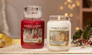 Get 4 Limited Edition Large Christmas Yankee Candles + Tower Advent Calendar (Priced at £75) for £64.77 Delivered @ Yankee Candle
