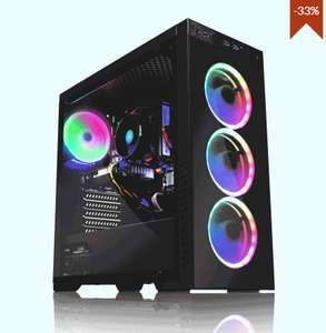 Gaming PC - AWD Horizon 2600X Six Core 4.25GHz RX 580 8GB Desktop £639.95 @ AWT-IT