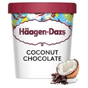 Haagen-Dazs Coconut Chocolate Ice Cream 460ml £1.50 @ Heron Foods