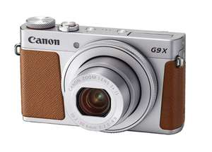 Canon PowerShot G9 X Mark II Digital Camera - Silver £299 @ Amazon