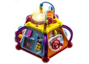 WolVol Musical Activity Cube Play Center with Lights, 15 Functions & Skills @ Amazon Lightning Deal Prime Exclusive £21.59