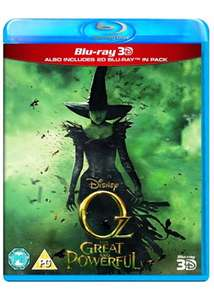 Oz the Great and Powerful (Blu-ray 3D + Blu-ray) for £6.49 Delivered @ Base
