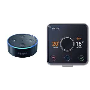 Hive, Hot water and Heating plus TWO free echo dots! - £148.99 @ Amazon