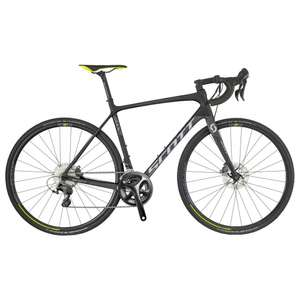 Scott Addict 10 ultegra disc 2018 bike. £1499 but £1349.10 with code plus free jacket @ Westbrook Cycles
