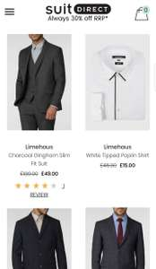 Suit Direct black Friday deals - prices from £5