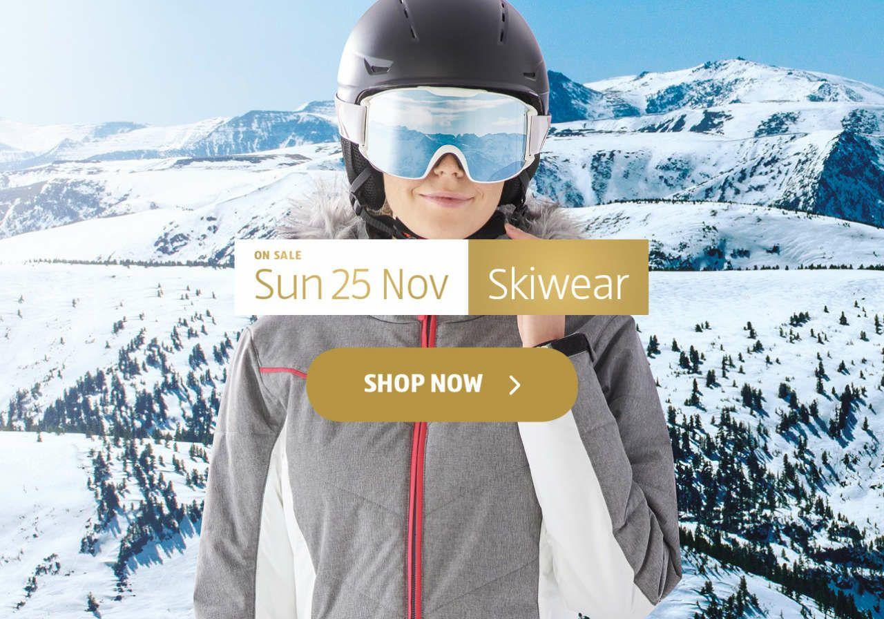 Aldi Skiwear Available On Pre-Order (e.g. technical ski trousers, jackets, merino base layers)