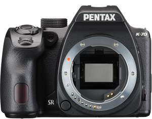 Pentax K-70 DSLR (body only) at Amazon for £199