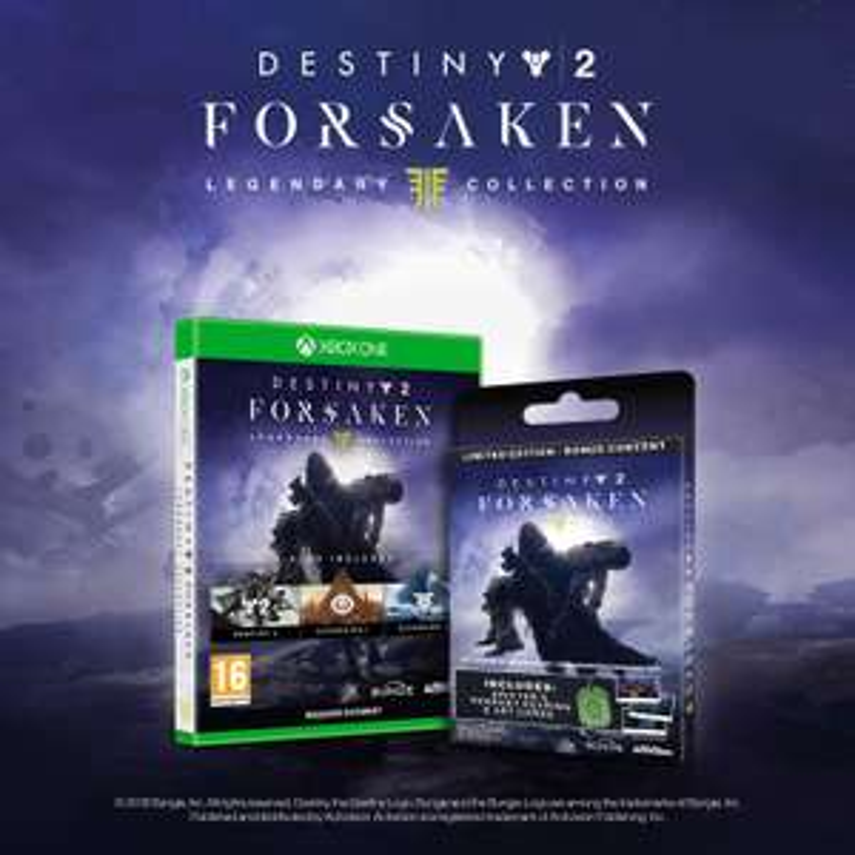 Destiny 2 Forsaken - Legendary Collection - UK Version - Xbox One for £19.98 Delivered @ Amazon Italy
