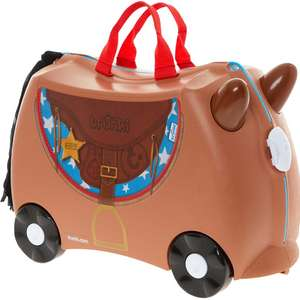 TRUNKI Brown Bronco Wheel Along Case now @ £29.99 @ TKMaxx