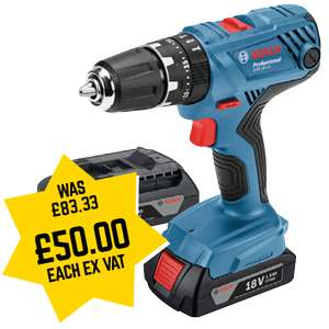 Bosch 18v combi drill at Selco for £60