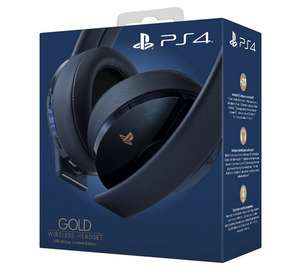 Sony PS4 Gold Gaming Headset - 500 Million Navy Blue £49.99 @ Argos