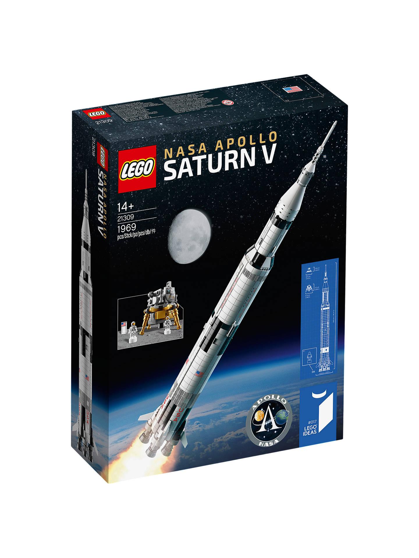 Lego Ideas 21309 NASA Apollo Saturn V £82.49 John Lewis & Partners