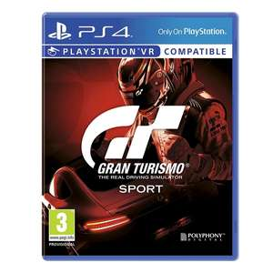 GT Sport PS4 now £12 @ Asda (also at George)