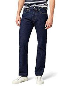 Levi's Men's 501 Original Fit Jeans  Blue (Onewash) Pack of 10 - £45.50 Amazon