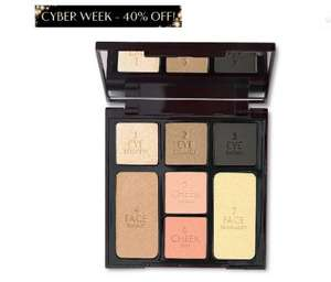 Charlotte Tilbury - INSTANT LOOK IN A PALETTE - 40% off for Black Friday (was £49, now £29.40 / £32.95 delivered) - add 2 free samples