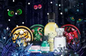 The bodyshop 40% OFF* & 25% OFF GIFTS