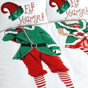 Offer Stack 20% off everything + extra 15% with code eg Elf Yourself Double duvet £13.60 / King £17, pair of pillows £5.44 @ Julian Charles