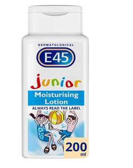 E45 Junior Dermatological Moisturising Lotion, 200 ml @ Amazon Pantry £3 + £2.99 Delivery