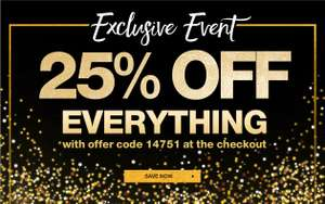 25% off with Code @ Damart