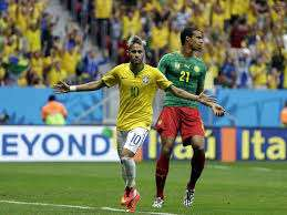 Brazil v Cameroon LIVE & FREE to air Tues 7.25pm on @ Freesports.tv