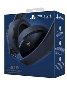 Gold Wireless Headset 500 Million Limited Edition £49.85 Delivered @ Shopto