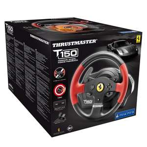 Thrustmaster T150 Ferrari Edition Force Feedback Racing Wheel for PS4/PS3/PC £109.99 @ Smyths