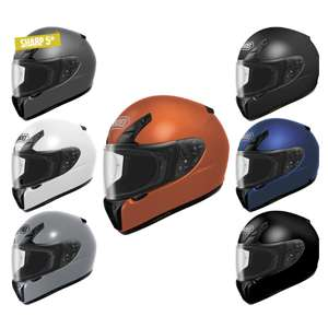 Shoei RYD Plain Motorcycle Helmet £212.49 w/code incl delivery @ Ghostbikes (Sharp Rating 5 / 5-Year Warranty)