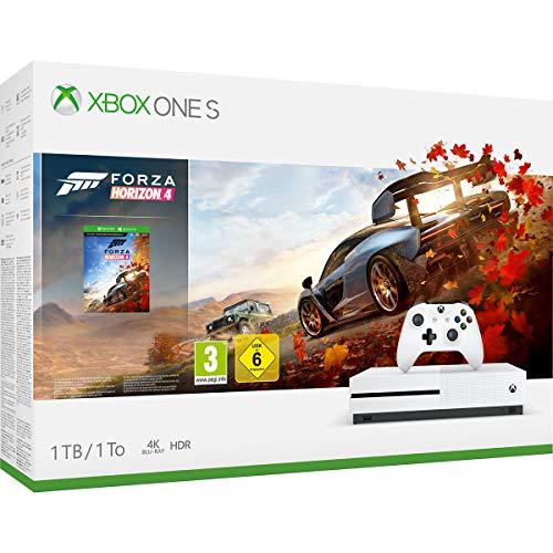 Xbox One S 1TB +  Forza Horizon 4 or Minecraft Explorer Pack or Fortnite Bundle £152 @ Amazon Germany