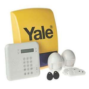 YALE HSA 6410 wireless alarm £40 off £149.99 at Screwfix