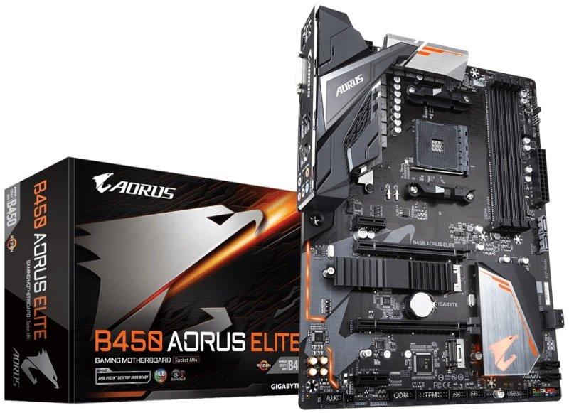 Gigabyte B450 AORUS ELITE AM4 Socket DDR4 ATX Motherboard + FREE FAR CRY 5 £85.97 @ Ebuyer