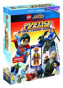 LEGO: Justice League - Attack of the Legion of Doom (inc Minifigure) Blu-ray £4.99 @ Entertainment Store eBay