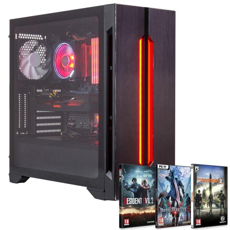 AMD Ryzen 7 2700X, Aorus 16GB DDR4 3200MHz, 120gb SSD, 2TB Seagate HDD, Gigabyte RX Vega 56 8GB, THREE FREE GAMES £1079.95 @ OCL