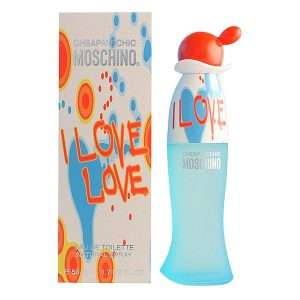 Moschino - I Love Love EDT 50ml now £12 delivered w/code + Free sample + Free gift wrap @ Beauty Base