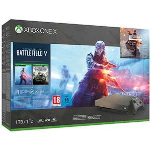 Xbox One X + Battlefield V + Battlefield 1 + Player Unknown's Battlegrounds £360.50 @ Amazon Spain
