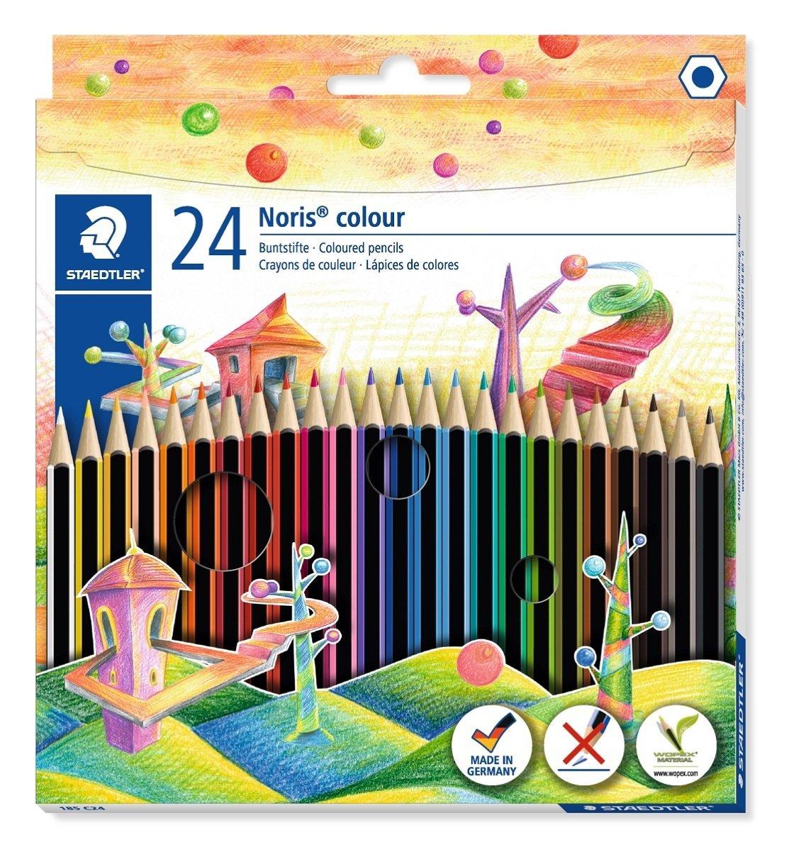 Staedtler 185 24 Noris Colour Colouring Pencil - Assorted Colours £2.80 @ Amazon
