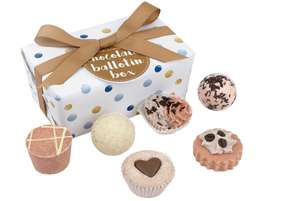 Bomb Cosmetics Chocolate Ballotin Handmade Bath Melt Gift Pack @ Amazon Warehouse Described As Like New £7.02 + £4.49 postage Non Prime
