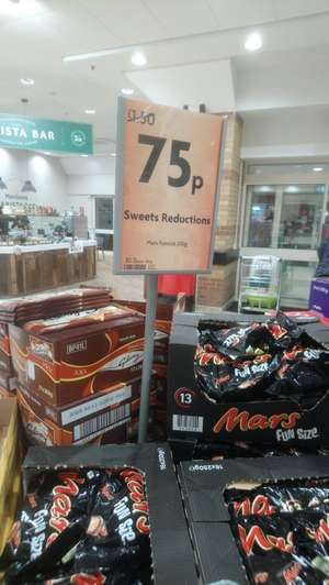 Mars bars treat size (13) found in Morrisons Norton Park Darlington for 75p