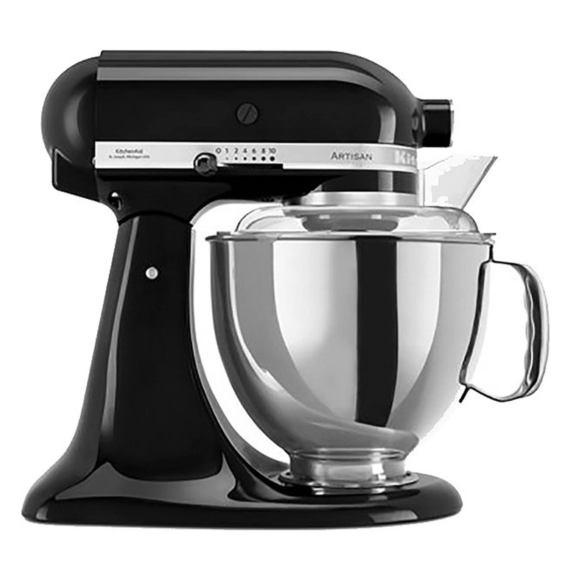 KitchenAid Artisan KSM150BBZ Stand Mixer Black Click+Collect £246.60 @ Hughes w/ voucher