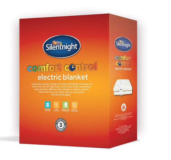 Silentnight Comfort Control Electric Blanket - Double @ Amazon Warehouse Described As Like New £17.73 Prime £22.22 Non Prime